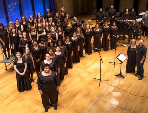 USML Women's Chorale Mentors Des Lee High School Singers